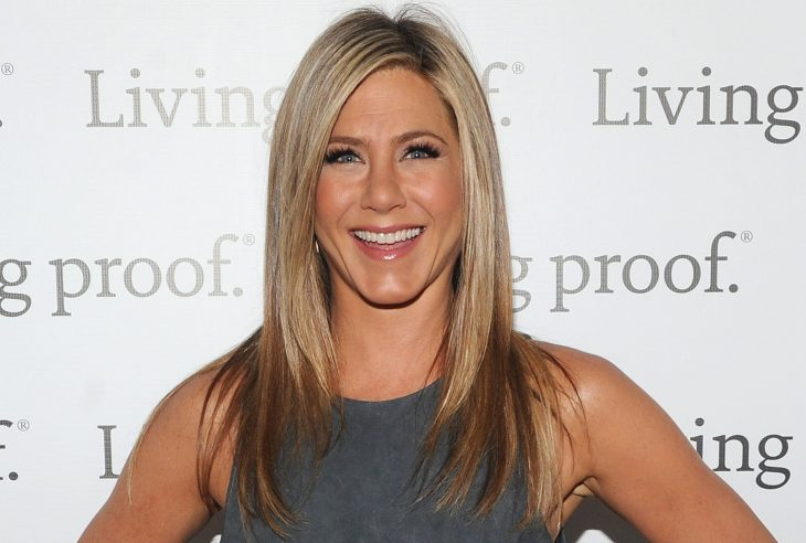 NEW YORK, NY - MAY 08:  Jennifer Aniston launches Living Proof Good Hair Day Web Series at The Royalton Hotel on May 8, 2013 in New York City.  (Photo by Jamie McCarthy/Getty Images for Living Proof)