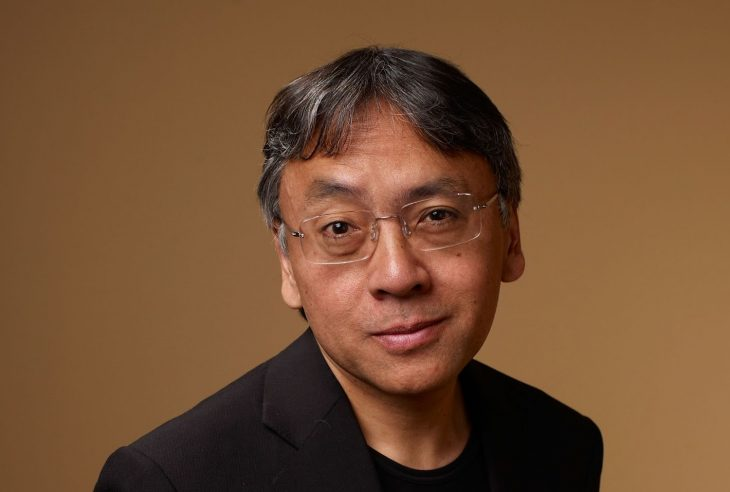 """TORONTO, ON - SEPTEMBER 13:  Author Kazuo Ishiguro from """"Never Let Me Go"""" poses for a portrait during the 2010 Toronto International Film Festival in Guess Portrait Studio at Hyatt Regency Hotel on September 13, 2010 in Toronto, Canada.  (Photo by Matt Carr/Getty Images)"""