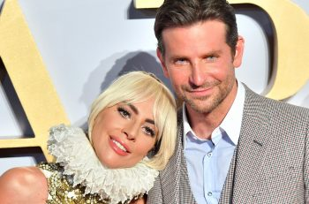 LONDON, ENGLAND - SEPTEMBER 27:  Lady Gaga and Bradley Cooper attend the UK premiere of 'A Star Is Born' held at Vue West End on September 27, 2018 in London, England.  (Photo by Samir Hussein/WireImage)