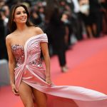 "US actress Eva Longoria poses as she arrives for the screening of the film ""The Dead Don't Die"" during the 72nd edition of the Cannes Film Festival in Cannes, southern France, on May 14, 2019. (Photo by LOIC VENANCE / AFP)"