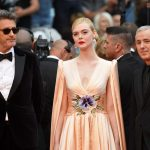 "(From L) Polish director and member of the jury of the Cannes Film Festival Pawel Pawlikowski, US actress and member of the jury of the Cannes Film Festival Elle Fanning and France and member of the jury of the Cannes Film Festival Robin Campillo arrive for the screening of the film ""The Dead Don't Die"" during the 72nd edition of the Cannes Film Festival in Cannes, southern France, on May 14, 2019. (Photo by LOIC VENANCE / AFP)"