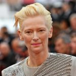 "British actress and model Tilda Swinton arrives for the screening of the film ""The Dead Don't Die"" during the 72nd edition of the Cannes Film Festival in Cannes, southern France, on May 14, 2019. (Photo by LOIC VENANCE / AFP)"