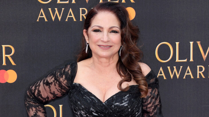 LONDON, ENGLAND - APRIL 07: Gloria Estefan attends The Olivier Awards 2019 with MasterCard at Royal Albert Hall on April 07, 2019 in London, England. (Photo by Karwai Tang/WireImage)
