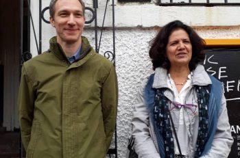 Sábado - Visita al CIvic House María Isabel Peña y Stefan Gzyl